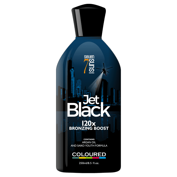 Jet Black Bottle
